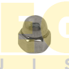 PORCA CALOTA #10 24-UNC X CHAVE 3/8  INOX A2