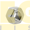 PORCA SEXTAVADA 1/4 20 UNC X CHAVE 7/16  ASME / ANSI B18.2.2 INOX A2