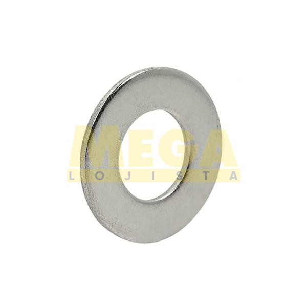 ARRUELA LISA M5 5.3 X 10 X 1 DIN 125A INOX A4