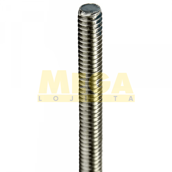 BARRA ROSCADA M8 1,25 MA  X 1000 DIN 975 INOX A4