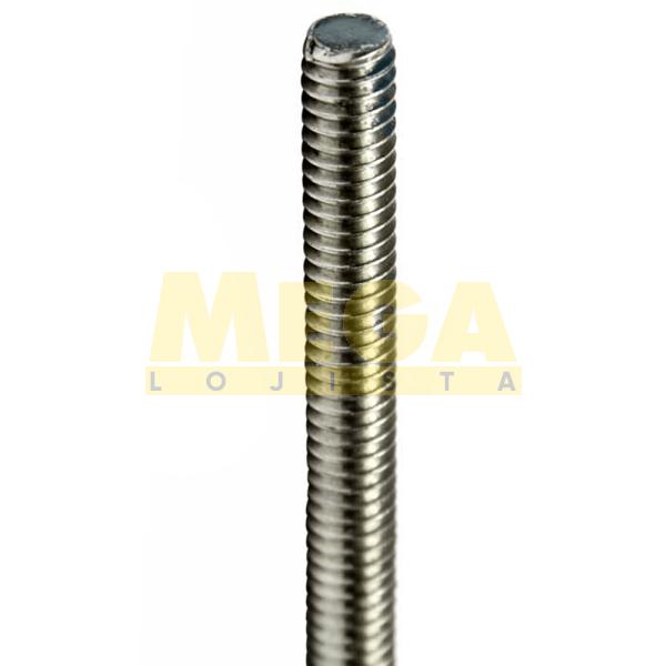BARRA ROSCADA M8 1,25 MA  X 1000 DIN 975 INOX A2