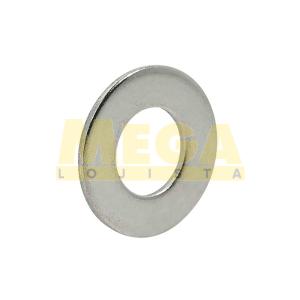 ARRUELA LISA M8 8.4 X 16 X 1.5 DIN 125A INOX A2