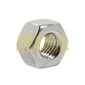PORCA SEXTAVADA #10 24-UNC X CHAVE 3/8  ASME / ANSI B18.6.3 INOX A2