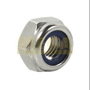 PORCA TRAVANTE BAIXA M5 0,80 MA X CHAVE 8  DIN 985 INOX A2