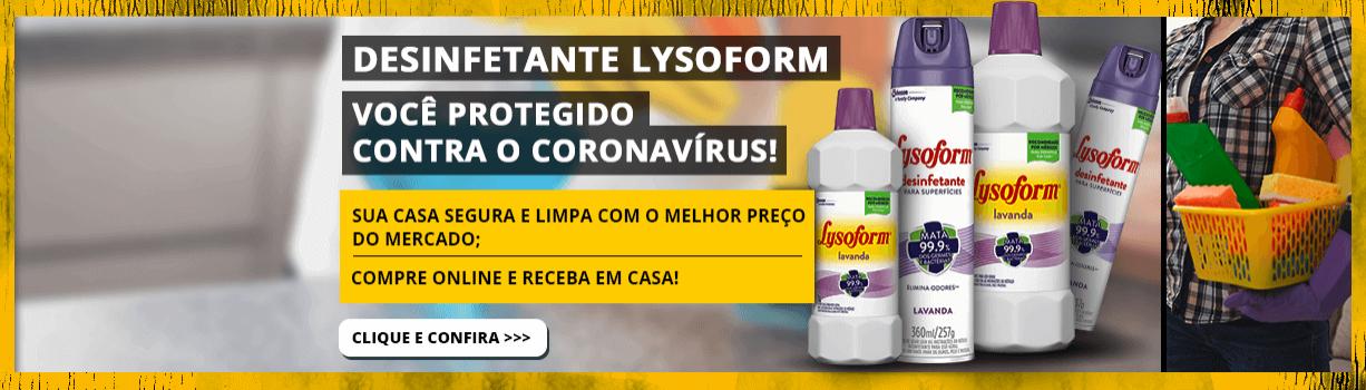 Promoção Lysoform Compre Online Mega Lojista